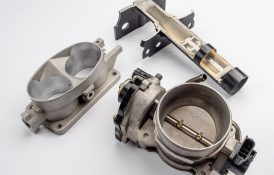 Shock Tower Cut Away, Dual and Single Throttle Body