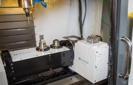 CNC Vertical Mill for dual Cavity 5 Axis Milling (Small Parts)