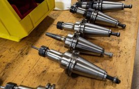 CAT-40 Tool Holders, Collet and Shrink Fit
