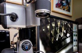 3D Microscope Inspecting Knurl