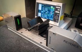 Laser Micrometer inspection OD