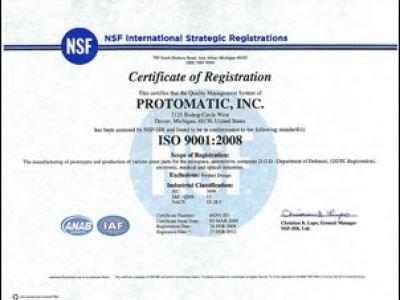 ISO 9001:2008 Update